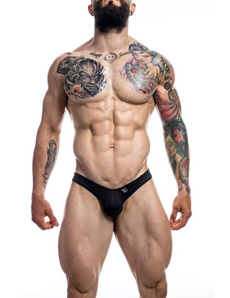 Pouch Enhancing Thong Black - Provocative - C4M