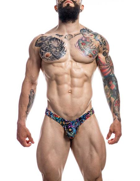Pouch Enhancing Thong Tattoo - Provocative - C4M
