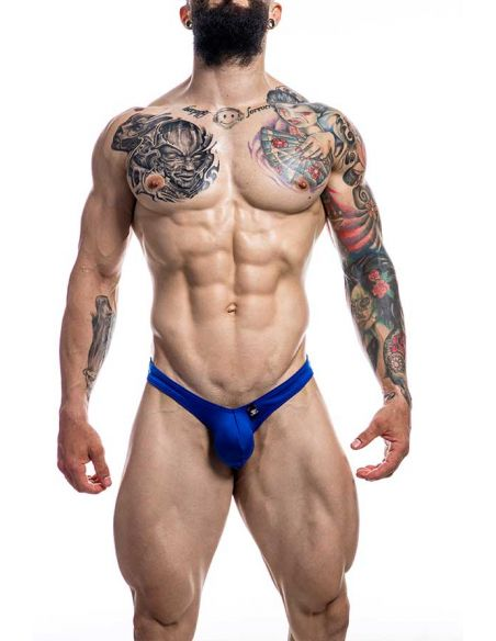 Pouch Enhancing Thong Royal Blue - Provocative - C4M